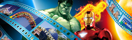 Win a trip to the Marvel theme park in Universal Studios, Florida!  Make a deposit at Casino.com to win.
